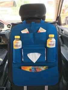 Car Back Seat Organizer Tablet Suporte Protector pontapé Mat saco de armazenamento 1 Pcs