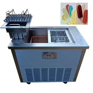 aço inoxidável máquina de picolé qualidade comercial automática rotativa picoleteira modo dual máquina de picolé para venda