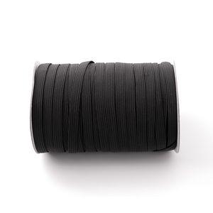 new 5mm and 3mm Elastic rope of mask ear belt elastic band polyester running belt latex flat elastic rope Mask rope T2I5889