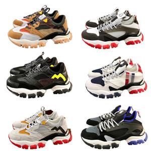 Mens Designer Schuhe vintage Platform Sneaker aus Kalbslederturnschuhe Comfort beiläufige laufende Schuhe TOP Qualitätsmarke Luxusschuhe