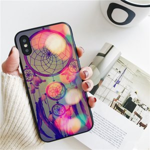 Fundas Dream Catcher Cover for iPhone 11 Pro Xs Max Xr Case for iPhone 8 7 6s Plus 5S SE 5 Case Soft Silicone Cover.