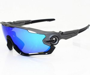 Top Motion polarisierte, winddichte Reitbrille mit Nachtsicht 4 Gläsern, Sportbrille für Männer, Frauen, Radsport-Schutzausrüstung, Brillengläser