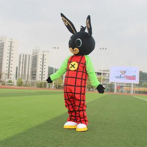 Gros-NEW Bing lapin mascotte costume Déguisements de Noël pour l'événement fête d'Halloween