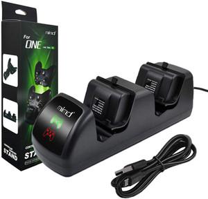 Caricatore doppio controller compatibile con Xbox One, One X, One S