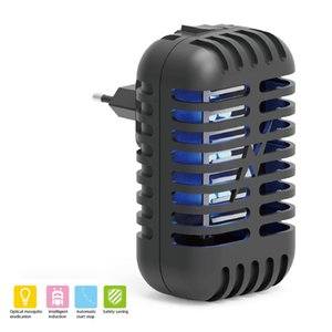 Choc électrique moustique tueur lampe LED Moustique Tueur Nuit Lumière UE USA moustique Zapper Bug répulsif