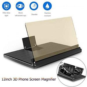 3D Film Video HD Genişletici Smartphone Standı Tutucu amplifikatör yüksek qualiy amplifikatör Evrensel ekran