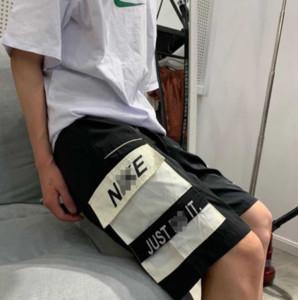 2020 Yaz Spor Marka Tasarımcı Erkek Şort Sandıklar Kısa Pantolon N Harf Büyük Cepler Elastik Bel Jogger Pantolon Şort 20041607L Sweat