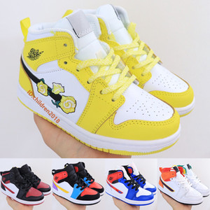 Nike Air Max Plus Crianças Running Shoes Para Meninos Meninas TN1 Miami Vice Triplo Preto Branco Igloo Grito Bebê Verde Crianças Tênis Tamanho 28-35