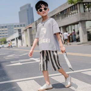 Baby boy's clothes Kids'stuff T-shirt and shorts set Summer wear Cotton clothes Cotton for children