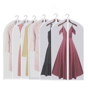Pack of 6 Hanging Garment Bag Lightweight Suit Bags Dust-Proofwith Study Full Zipper for Closet Storage and Travel