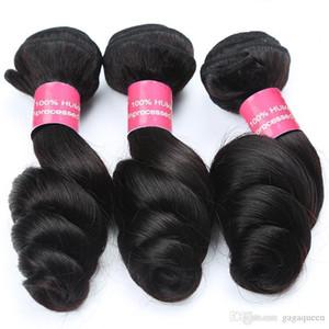 B Peruvian lose Welle mit 4x13 Closure-peruanische Haar-Bündel mit Frontal Rohboden Menschliches Haar Weaves Haar Ohr zu Ohr Lace Frontal C