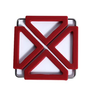 Creative antidérapante Coaster Pad couleur bonbons multi-fonctionnelle Pad Isolation thermique en silicone napperons Hanging Bowl Pad Table Mat DBC DH1047