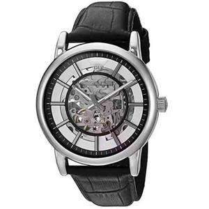 Luxury мужской дизайнер ремень ретро ремень черный подлинной полые механические часы моды мужские унисекс часы большой кристалл лицо с коробкой AR1981