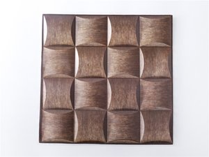 Hot selling 3D three-dimensional self-adhesive tile stickers 30X30cm 5 patterns anti-collision stickers PVC wall stickers home DIY decoratio