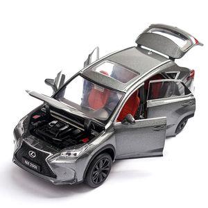 Decoration 6 door toy car Luxury SUV Car Model For Range Rover Velar Collection Off-road Vehicle Model Sound&Light Toys Car children's gift