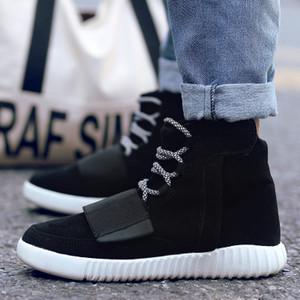Venta caliente-2016 Mujeres Hombres botas Moda Martin Botas de nieve al aire libre Casual barato madera Otoño Invierno zapatos de amante