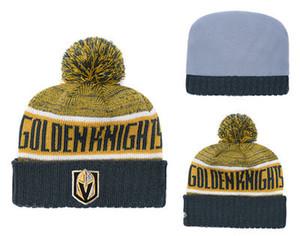 Notizie snapbacks caldi Las Vegas GOLDEN CAVALIERI Penguins LA Kings Blackhawks Bruins Hockey cappelli di goccia di ordine della miscela di modo di trasporto