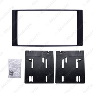 Car Double Din Radio Fascia DVD Decorative Frame for Subaru Forester Impreza 2008+2DIN Dash Mount Panel Frame Trim Kit#5190