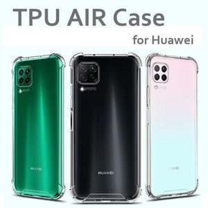 Transparent Soft TPU Case for Huawei P30 P30 Lite P20 P10 Mate 30 20 10 Pro Mobile Phone Case Air Cushion Protective Rear Cases