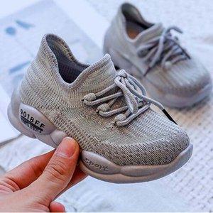 Мальчики Обувь 2019 YZ Осенний дизайнер дешевые детские туфли сетки дышащие детские девочки спортивные туфли осень мягкие дна детей открытый кроссовки