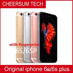 الأصلي فون 6S زائد مع اللمس ID 4.7''5.5 '' IOS 9 ثنائي النواة 2G RAM 16GB 64GB 128GB ROM 12MP مقفلة الهواتف المحمولة التي تم تجديدها