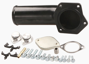 EGR Valve Delete Kit+Intake Elbow Diecast for 08-10 Ford 6.4L Powerstroke Diesel