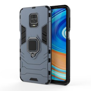 Shockproof Hard Case For Redmi Note 9 9S 9Pro Max Magnetic Car Ring Holder Phone Case For Redmi Note 8T 8 7 Pro 8A 7A