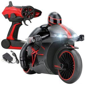 24G Peças Acessórios elétrica controle remoto Mini Moda Rc Motocicleta Com luz fria alta velocidade Rc Motorbike brinquedos modelo Controle Remoto