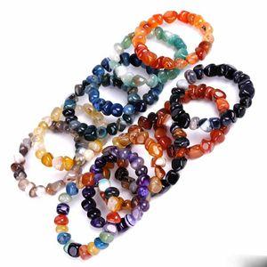 irregularity agate natural stone bracelet luxury designer jewelry women bracelets mens bracelets bead charm bracelet designer jewelry