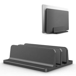Laptop Suporte Vertical Duplo desktop stand titular com Dock ajustável (até 17,3 polegadas) Para Laptop Samsung Sony