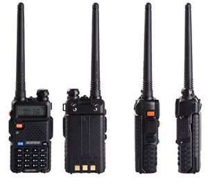 Baofeng UV5R UV5R Walkie Talkie Dual Band 136-174MHz 400-520Mhz Two Way Radio Transceiver com 1800mAH bateria do fone de ouvido livre (BF-UV5R) DHL
