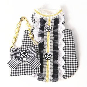 Disfraces personalidad del estilo de Lolita admiten chalecos de alta Lovely Street un pelo al aire libre Breathbale Schnauzer de peluche con bolsas