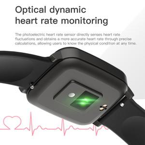 베스트 셀러 남자 여자 스마트 시계 체온 측정 시계 saat 시간 건강 추적기 팔찌 착용 할 수있는 장치 온도계
