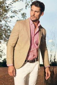 Son 2020 Slim Fit Erkekler Suit Blazer Masculino Nedensel Modern Blazer Yaz Özel 2 Adet Erkek Suits Tasarımları (Ceket + Pantolon)