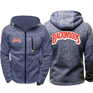 Backwoods Cigarrillos Wiz Khalifa Hommes Sport Casual Sweats À Capuche Zipper Tide Jacquard Automne Sweat Printemps Automne Veste Manteau Survêtement Tops