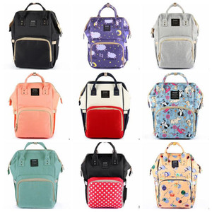 Mommy Nappies Bags Diaper Brand Backpack Maternity Desinger Handbags Fashion Mother Backpacks Outdoor Nursing Travel Bags Organizer C4052