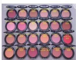 Makeup Shimmer Blush Sheer Tone Blush 24 Different Colors No Mirrors No Brush 6g