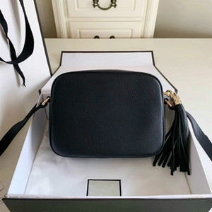 Женщины моды сумки известного бренда дизайнер сумка плеча Tassel SOHO Сумки женские кисточкой личи Профиль Женщины Сумка 308364