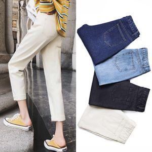 Fashion jean woman mom jeans pants boyfriend jeans for women with high waist ladies denim High quality Harem pants 2020