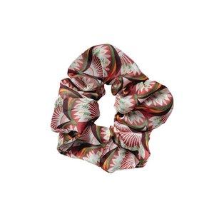 2020 fashion chiffon flower women hair scrunchies girls scrunchies floral designer hair bands hair accessories for women hairbands B1179