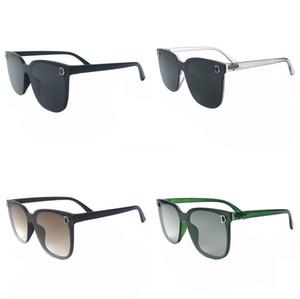 2020 nuova retro annata rotonde polarizzata punk Steampunk occhiali da sole per la pelle Laterale Maschile Occhiali da Sole PL1122 T200108 # 287