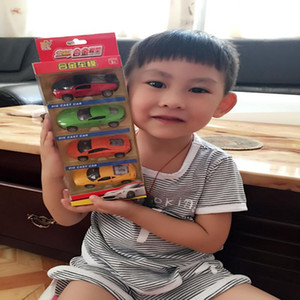 SY Diecast Car Model Toy, 1:64 Mini Jeep, Military Truck Aircraft, Police Car, Bus, Sports Car, Ambulance, Pull Back, for Kid Birthday Gifts