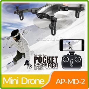FQ31 Портативные 3D Flips Quadcopter Indoor Открытый Дрон Mini Один Ключ Возврат RC Складной Светодиодный режим без головы