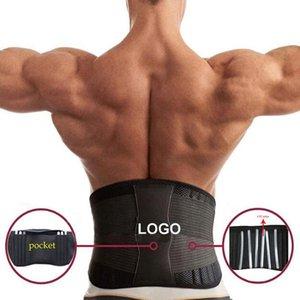 Inferior de la espalda correa de soporte lumbar Corrector de Postura ortopédica faja lumbar de la cintura Trainer Correa del corsé de la energía que adelgaza Hombres Mujeres