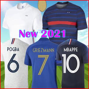 2020 2021 MBAPPE POGBA maglia da calcio francia 2020 Euro GRIEZMANN VARANE HERNANDEZ maglia da calcio THAUVIN MATUIDI PAVARD 2018 2020 france maglia da calcio