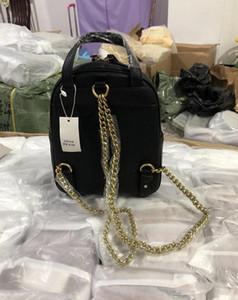Kadın Deri Schoolbag SOHO Çanta Disko Omuz Çantası Çanta Mini Sırt Çantası 1369