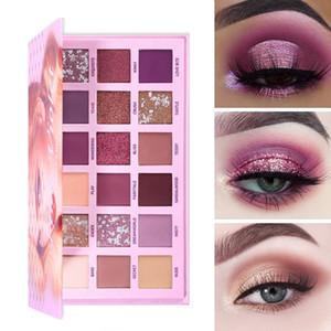 New Changeable Nude Eye Shadow Beauty Palette Makeup Kit 18 Colors Matte Shimmer Glitter Eyeshadow Powder Waterproof Pigmented