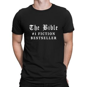 The Bible Fiction Bestseller Tshirt Creative Top Quality Clever T Shirt For Men Summer Pattern Anlarach Top Quality