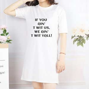 Women Resist Dress Girl Affirmative Movement Dress Fashion Letter Printed Clothing Womens Summer New Style Streets Dresses New