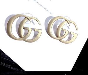 Modedesigner der heißen Metallohrringe 2019, zum der eleganten Damemarken-Namenohrringe der Kristallohrringe herzustellen freies Verschiffen 03712